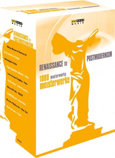 1000 Meisterwerke. Von der Renaissance bis zur Postmoderne. 10 DVDs.