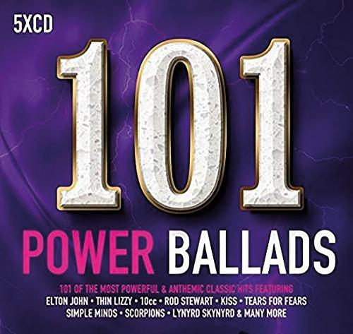101 Power Ballads 5 CDs