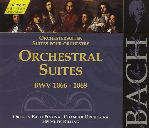 Johann Sebastian Bach: Orchestersuiten BWV 1066 - 1069. 2 CDs