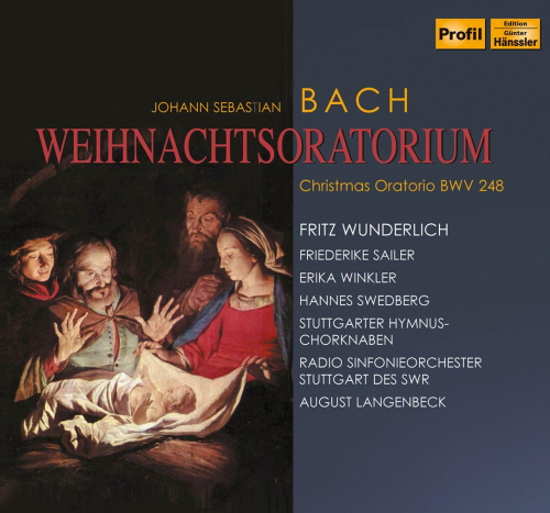 Johann Sebastian Bach: Weihnachtsoratorium Teile I -III. 2 CDs