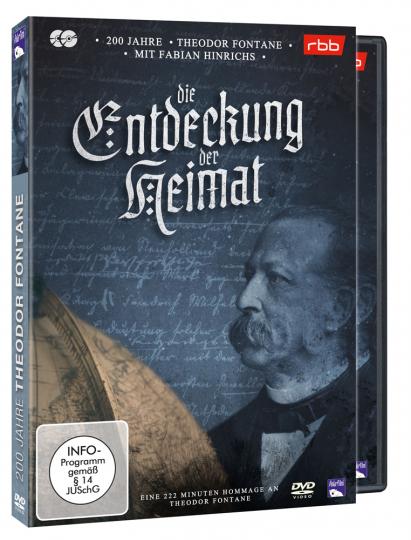 200 Jahre Theodor Fontane - Die Entdeckung der Heimat. 2 DVDs.