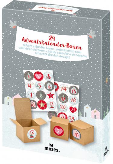 24 Adventskalender-Boxen