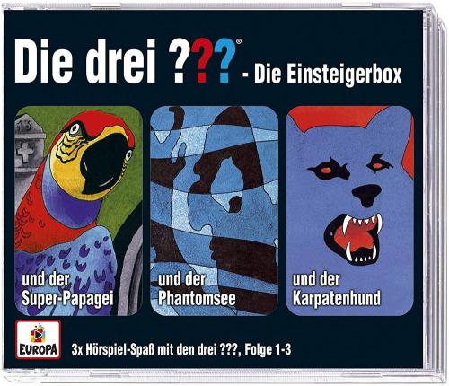 3 CDs Die drei ??? - Einsteiger-Box (Limited Edition)