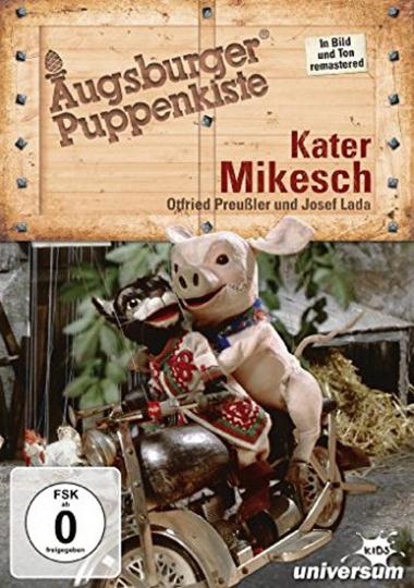 6 DVDs Augsburger Puppenkiste - Die großen Klassiker - Teil 2