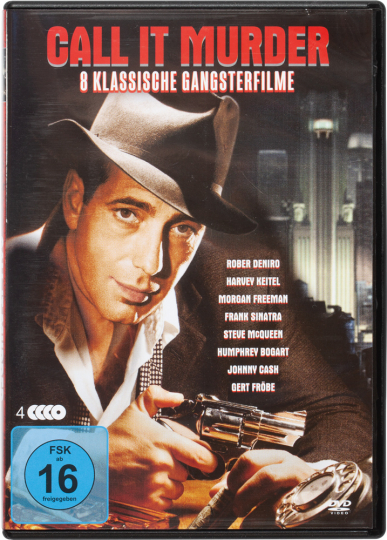 Call it Murder - Acht klassische Gangsterfilme. 4 DVDs.