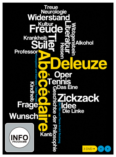 Abécédaire - Gilles Deleuze von A bis Z. 3 DVDs.