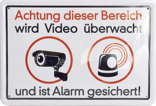Achtung! Dieser Bereich wird videoüberwacht!