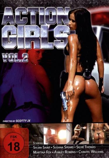 Actiongirls Vol.2. DVD.