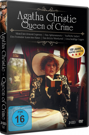 Agatha Christie - Queen of Crime (6 Filme). 3 DVDs.