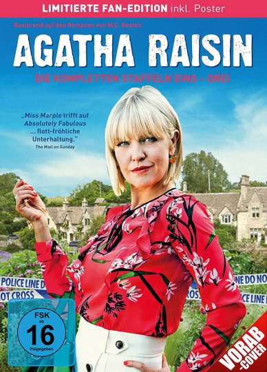 Agatha Raisin Staffel 1-3 (Limitierte Fan-Edition). 7 DVDs.