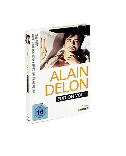 Alain Delon Edition Vol.1. 3 DVDs.