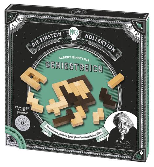 Albert Einsteins Geniestreich. Geduldspiel.