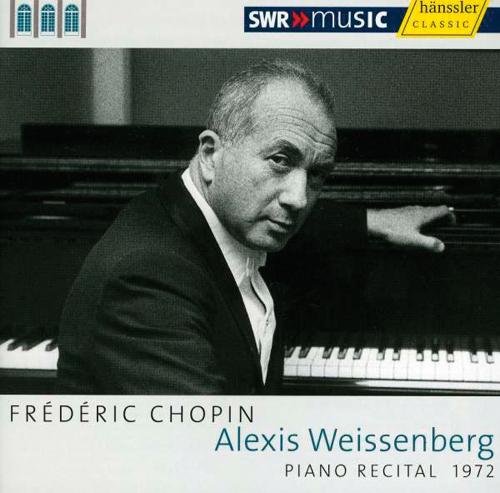 Alexis Weissenberg. Frédéric Chopin. Klavierrecital 1972. CD.