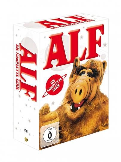 Alf (Komplette Serie). 16 DVDs.