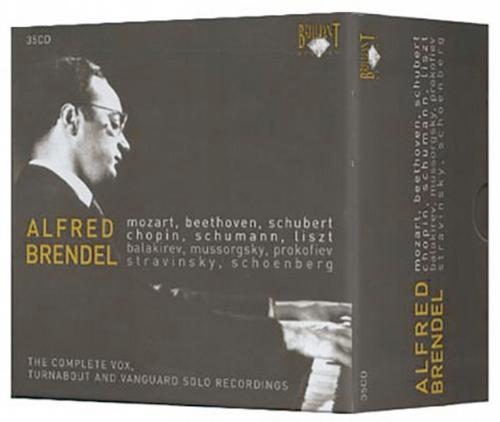 Alfred Brendel Komplett-Edition. 35 CDs.