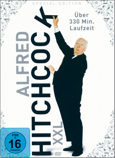 Alfred Hitchcock XXL. 2 DVDs.