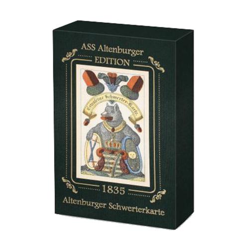 Altenburger Schwerterkarte 1835