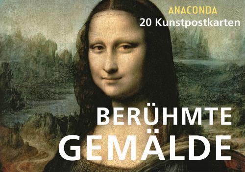 Postkartenbuch »Berühmte Gemälde«. 20 Kunstpostkarten.