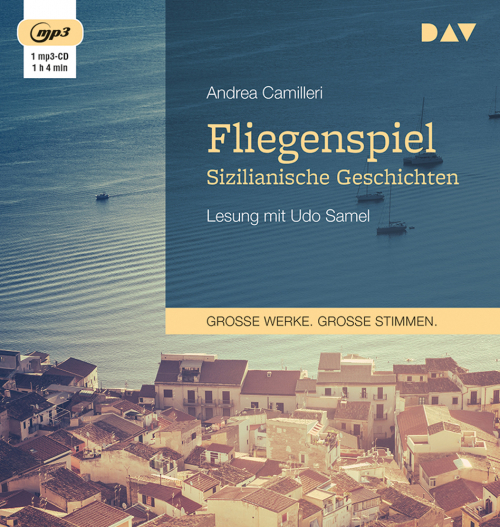 Andrea Camilleri. Fliegenspiel. Sizilianische Geschichten. mp3-CD.