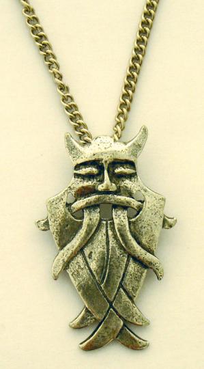 Anhänger Odins Maske.