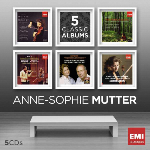 Anne-Sophie Mutter. 5 Classic Albums. 5 CDs.