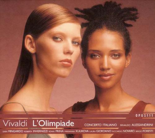 Antonio Vivaldi. L'Olimpiade RV 725. 3 CDs.