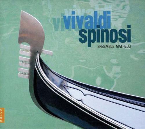 Antonio Vivaldi. La Fida Ninfa, Orlando Furioso, Flötenkonzerte u.a. 4 CDs.