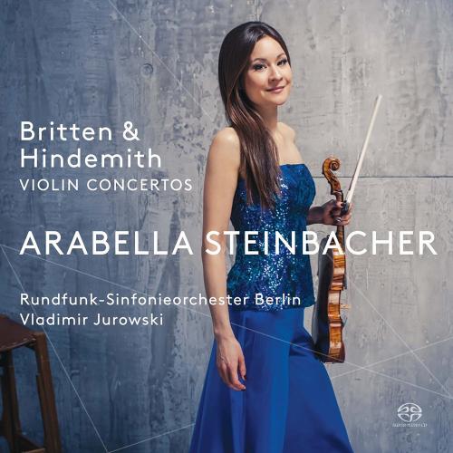 Arabella Steinbacher. Britten & Hindemith. SACD.