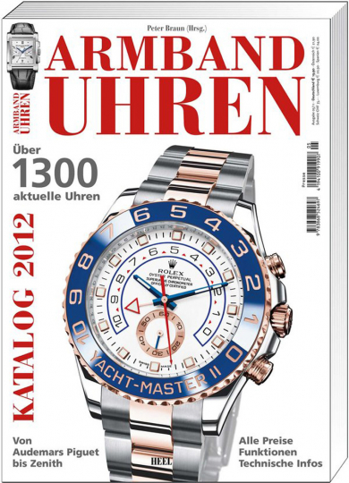 Armbanduhren Katalog 2012