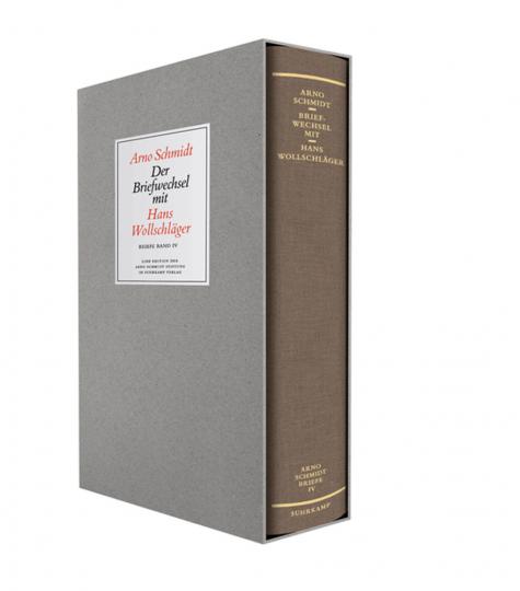 Arno Schmidt. Hans Wollschläger. Briefe von und an Arno Schmidt. Bargfelder Ausgabe, Bd. 4.