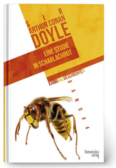 Arthur Conan Doyle. Eine Studie in Scharlachrot. Kriminalgeschichten 4.