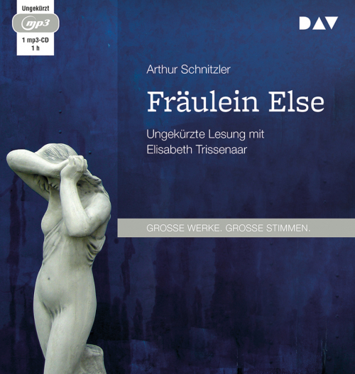 Arthur Schnitzler. Fräulein Else. mp3-CD.