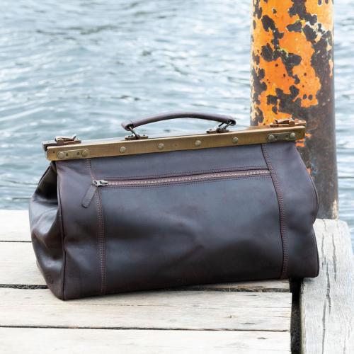 Arzttasche »Doctor's Bag«, braun.