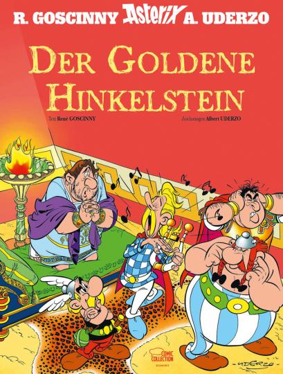Asterix - Der Goldene Hinkelstein.