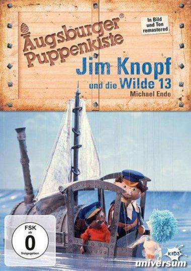 Augsburger Puppenkiste. Jim Knopf und die Wilde 13. DVD.
