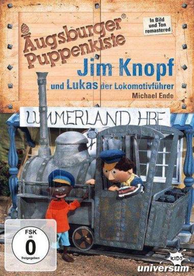Augsburger Puppenkiste. Jim Knopf und Lukas, der Lokomotivführer. DVD.