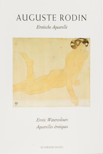 Auguste Rodin. Erotische Aquarelle.