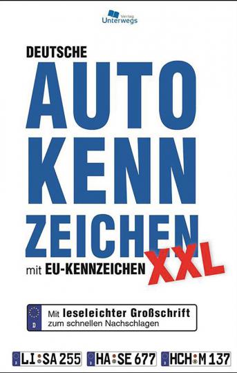 Autokennzeichen XXL mit EU-Kennzeichen