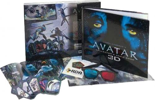 Avatar 3D-Sammelalbum. Mit zahlreichen Highlights aus dem Film.