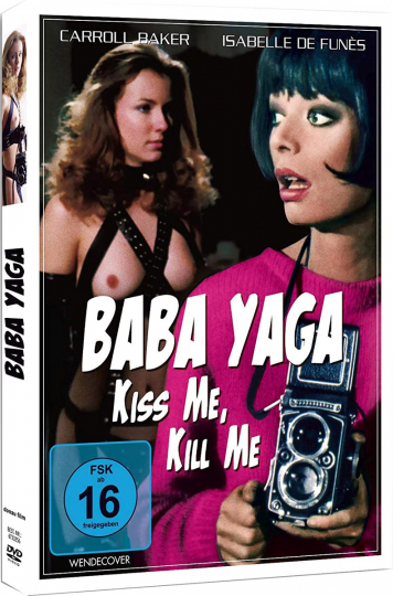 Baba Yaga - Kiss Me, Kill Me. DVD.