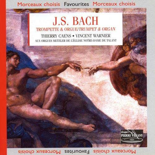 Johann Sebastian Bach. Werke für Trompete & Orgel. CD.