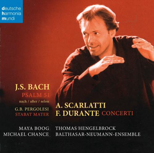 Bach, Scarlatti & Durante. CD.