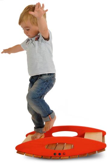 Balancebrett für Kinder.