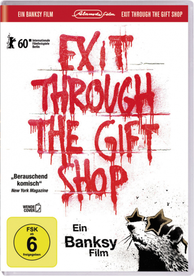 Banksy. Exit Through The Gift Shop. DVD.