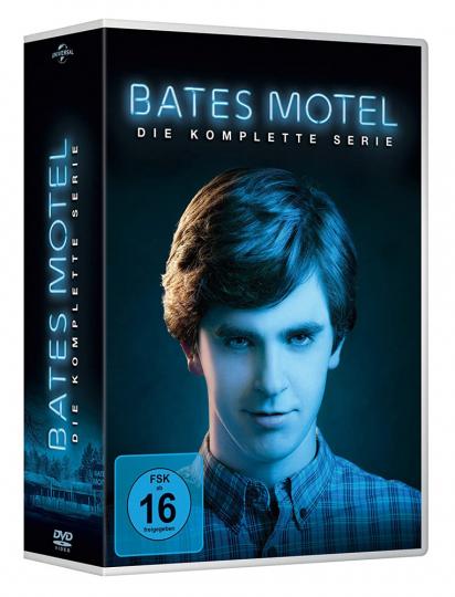 Bates Motel (Komplette Serie). 15 DVDs.