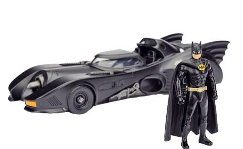 Batmobil und Batman 1989 - Modell 1:24