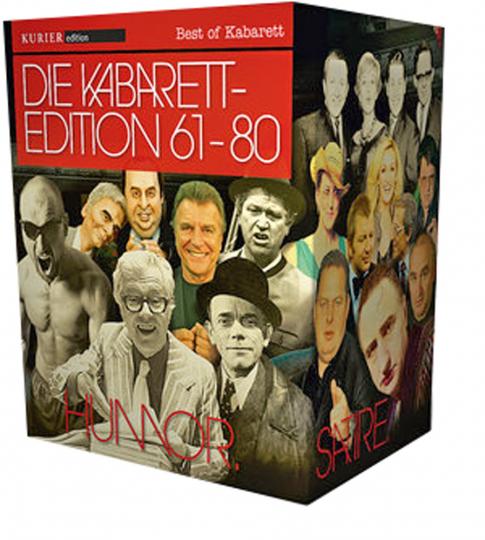 Bayerisch-Österreichische Kabarett-Edition. 20 DVDs.