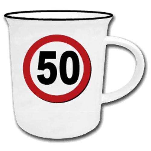 Becher mit Jahreszahl '50'