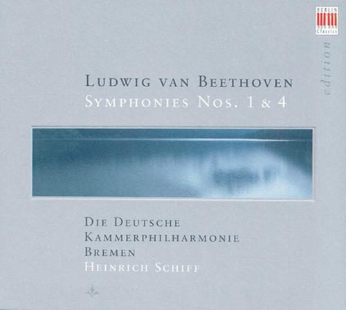 Beethoven Sinfonien No. 1 & 4  CD