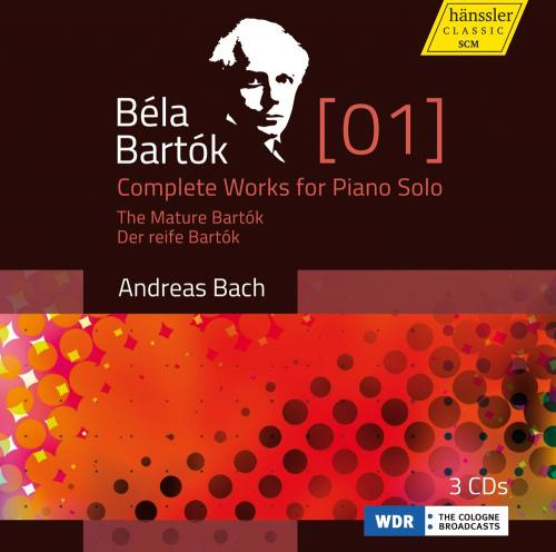 Bela Bartok. Das Klavierwerk Vol. 1. 3 CDs.